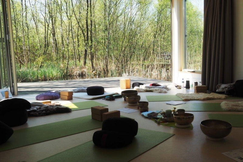 Kundalini Yoga in de Weerribben