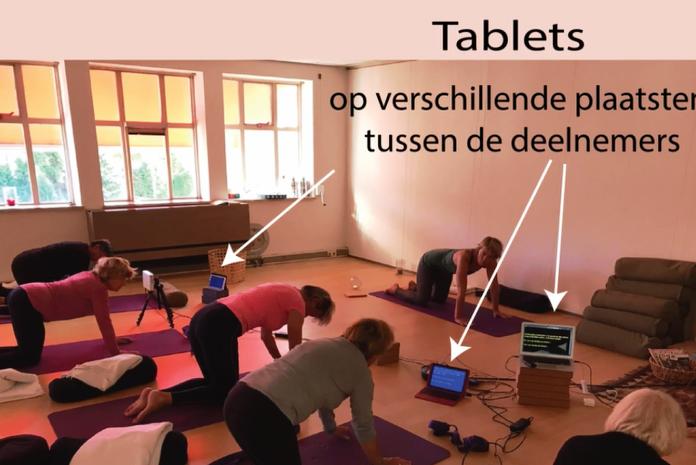 Yoga voor auditief beperkten 1