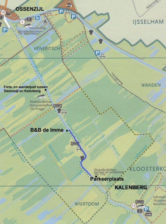 Plattegrond De Imme De Tille Ossenzijl Kalenberg met tekst 2 lr
