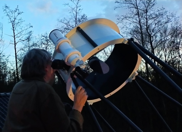 Dark Sky in de Weerribben. Astronomie arrangement