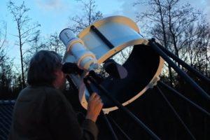 Astronomie arrangement in De Imme